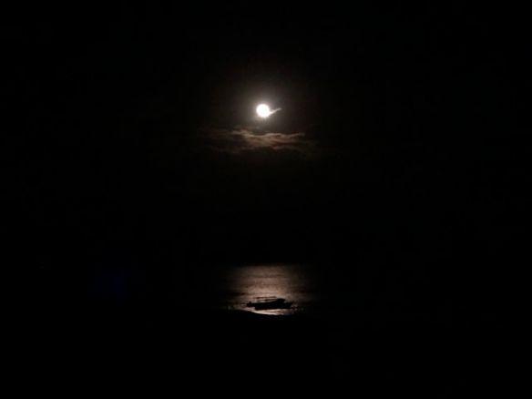Lua em Puerto Morelos