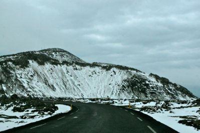 Islândia - Saindo do Aeroporto