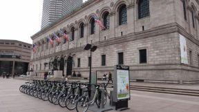 Biking in Boston