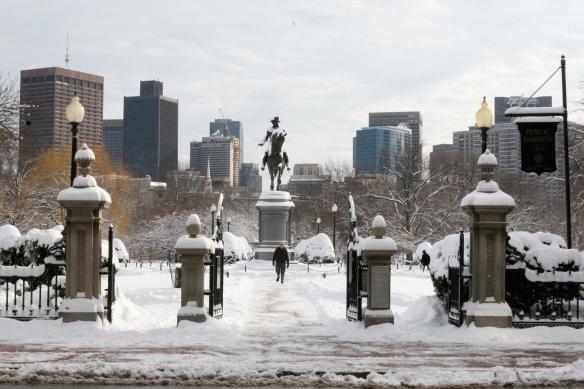 Estátua de Washington no Public Garden