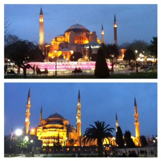 AyaSofya and Blue Mosque