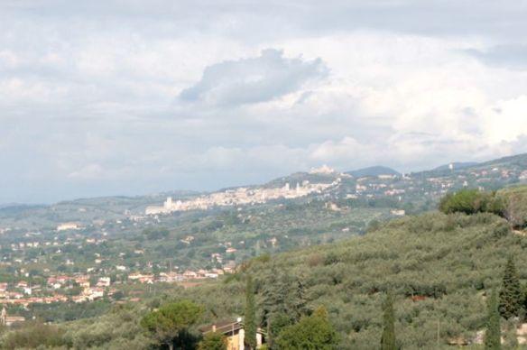 Assisi vista de Spello