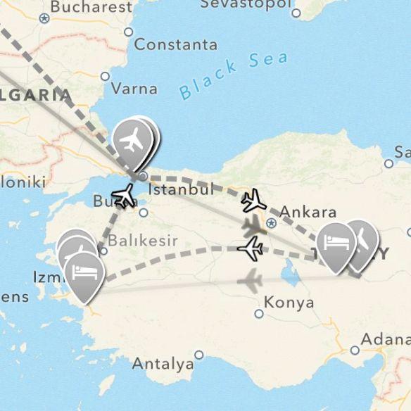 Roteiro Turquia