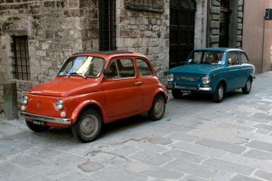 Fiats em Gubbio