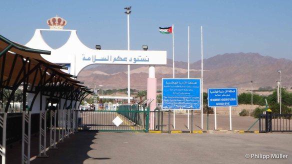 Saindo da Jordânia