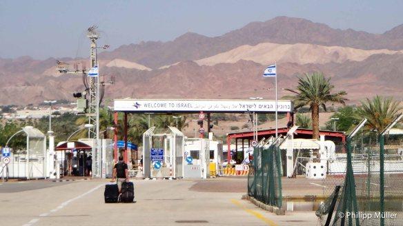 Chegando em Israel
