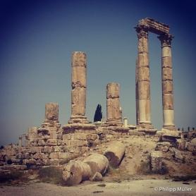 Ruínas Romanas, Amman