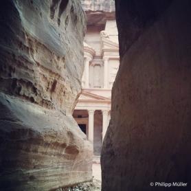 Petra - Siq, por onde tudo começou