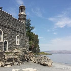 Mar da Galiléia e Igreja do Primado de São Pedro