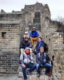 De Garça para a Grande Muralha de Jinshanling