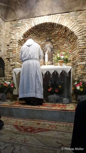 Missa de Páscoa na Meryem Ana Evi