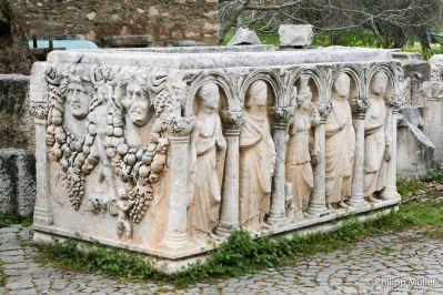 Detalhes em Aphrodisias